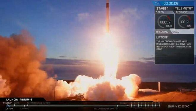 SpaceX phong ten lua vu tru dau tien trong nam 2019 hinh anh 1