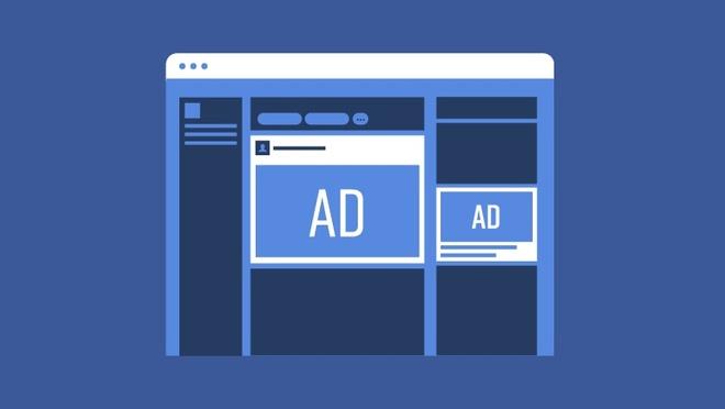 Facebook đang tràn ngập quảng cáo. Ảnh: Found.