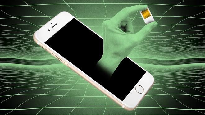 Số vụ hack SIM điện thoại ngày càng xảy ra nhiều hơn. Ảnh: Motherboard.
