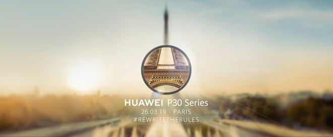 Chua co doi thu ve camera, Huawei lai sap ra mat P30 Pro hinh anh 1