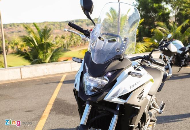 Chi tiet adventure hang nhe Honda CB500X 2019 gia 187 trieu dong hinh anh 2