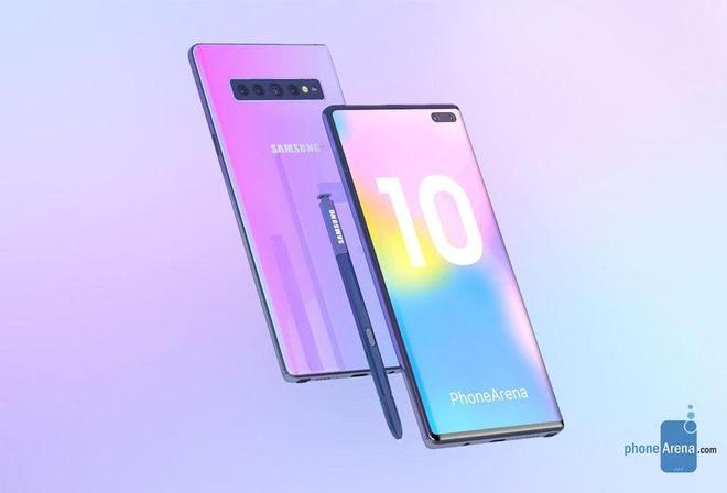 Galaxy Note 10 se khong co bat cu phim bam nao? hinh anh 1