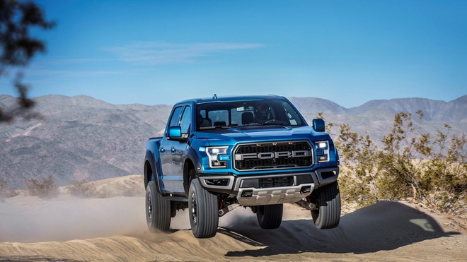 Ford F-150 Raptor se trang bi dong co cua Shelby GT500 anh 1
