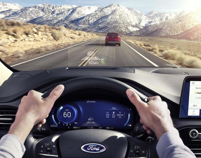 Ford Escape 2020 ra mat, doi thu cua Honda CR-V va Toyota RAV4 hinh anh 6