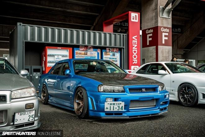 Ngay hoi cua nhung chiec xe duoc menh danh 'Godzilla' tai Nhat Ban hinh anh 7