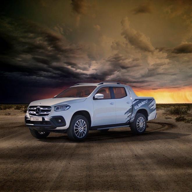Mercedes-Benz X-Class Element Edition hoa tiet la, cau hinh cao nhat hinh anh 1