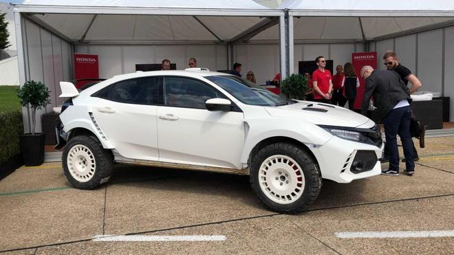 Honda Civic Type R phien ban nang gam cho dan off-road se the nao? hinh anh 6