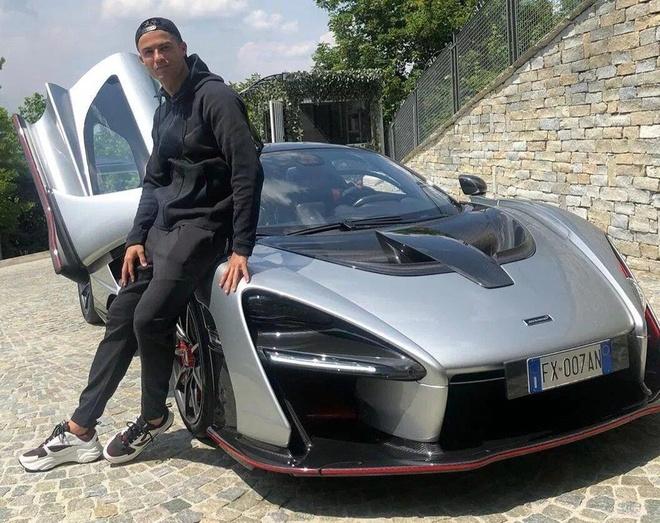 Sieu xe McLaren Senna gia trieu USD ma Ronaldo moi sam manh the nao? hinh anh 1