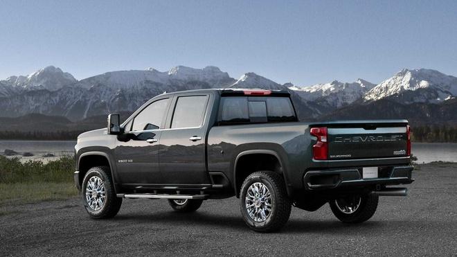 Ban tai Chevrolet Silverado HD 2020 cong bo gia, re hon the he truoc hinh anh 3