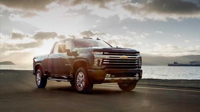 Ban tai Chevrolet Silverado HD 2020 cong bo gia, re hon the he truoc hinh anh 4