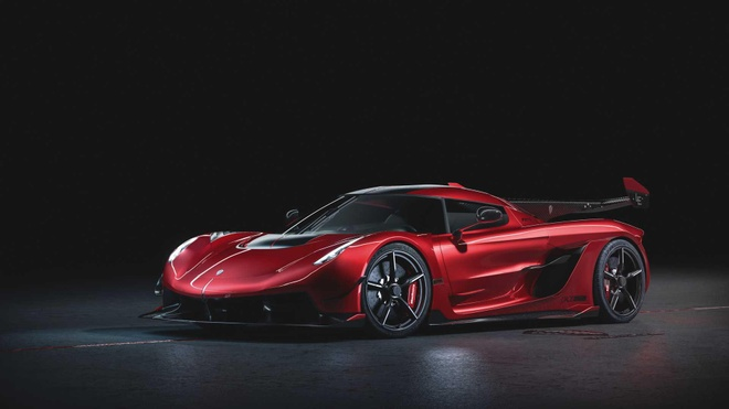 Koenigsegg Jesko Red Cherry Edition bản one-off lộ diện