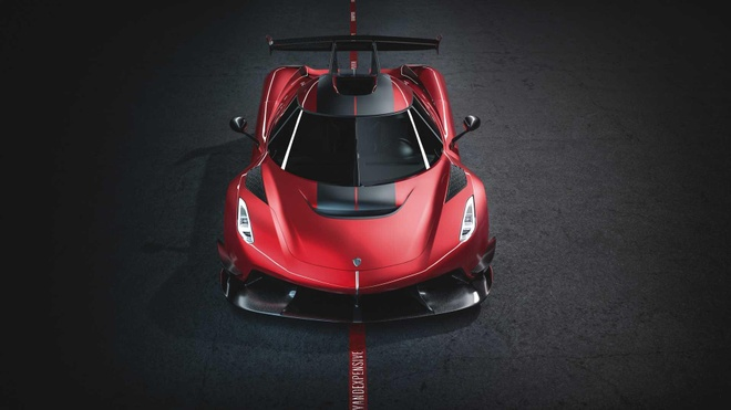 Koenigsegg Jesko Red Cherry Edition ban one-off lo dien hinh anh 2