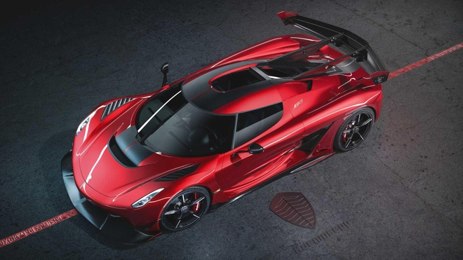 Koenigsegg Jesko Red Cherry Edition ban one-off lo dien hinh anh 3