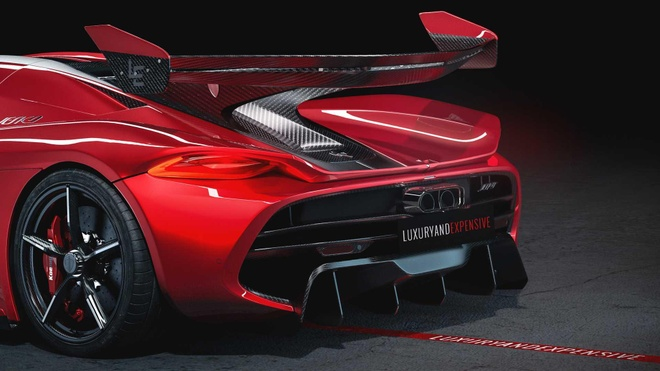 Koenigsegg Jesko Red Cherry Edition ban one-off lo dien hinh anh 5
