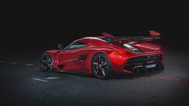 Koenigsegg Jesko Red Cherry Edition ban one-off lo dien hinh anh 4