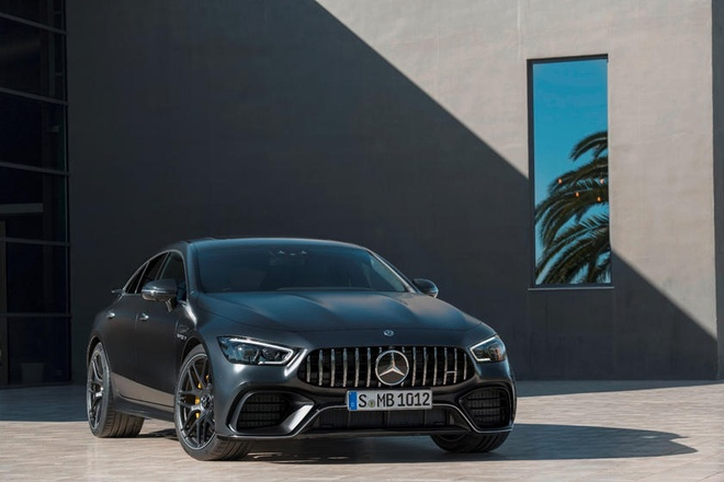 Mercedes-AMG GT 4-Door se la mot trong nhung chiec sedan manh nhat hinh anh 1