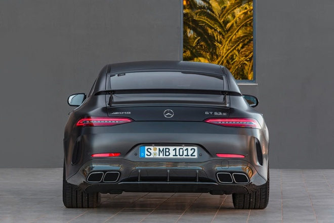 Mercedes-AMG GT 4-Door se la mot trong nhung chiec sedan manh nhat hinh anh 3
