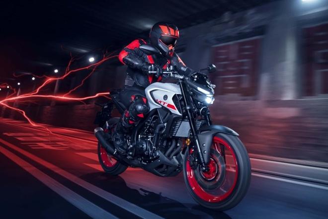 Yamaha MT-03 phien ban 2020 ra mat, tre trung va hien dai hon hinh anh 1