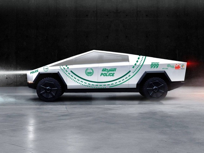 Canh sat Dubai se dat mua Tesla Cybertruck lam xe tuan tra hinh anh 1