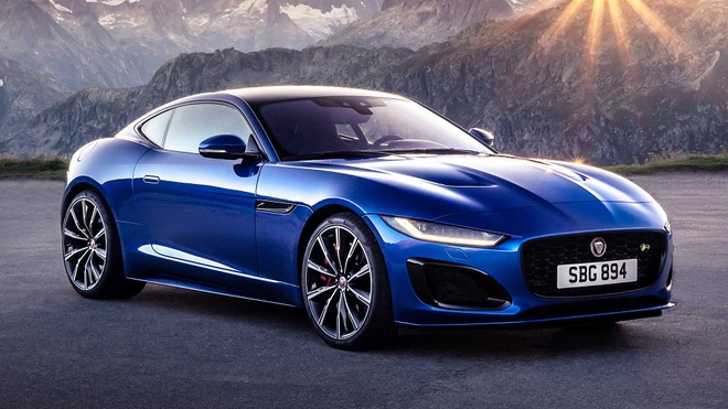Jaguar F-Type 2021 ra mat voi dien mao moi manh me hon hinh anh 3