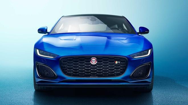Jaguar F-Type 2021 ra mat voi dien mao moi manh me hon hinh anh 1