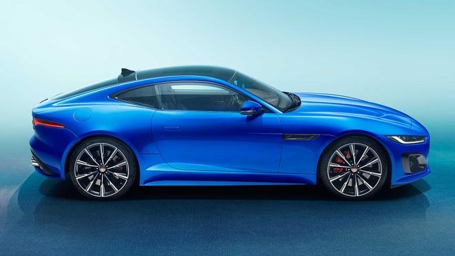 Jaguar F-Type 2021 ra mat voi dien mao moi manh me hon hinh anh 4