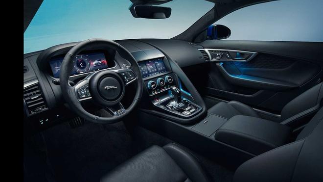 Jaguar F-Type 2021 ra mat voi dien mao moi manh me hon hinh anh 5
