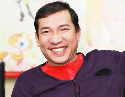 Quang Thang: '3 con, 1 vo, met nhung vui' hinh anh