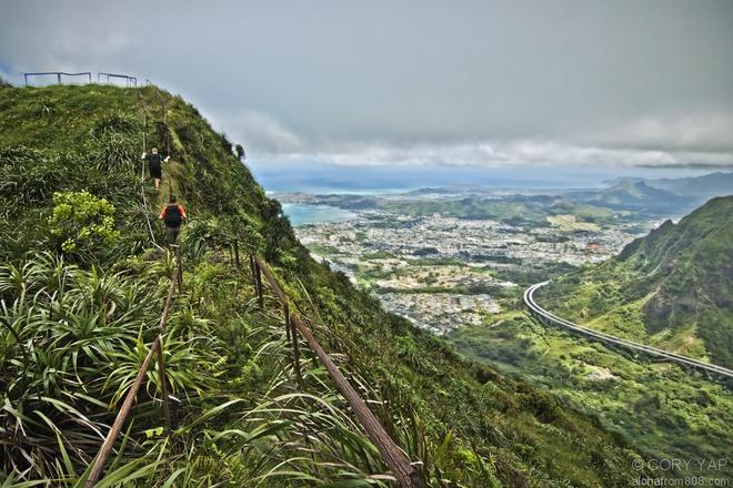 Thot tim tren cau thang 'len thien dang' o Hawaii hinh anh 9