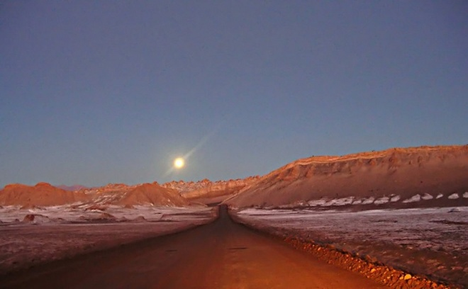 Nhung vung sa mac dep me hon hinh anh 9 Sa mạc Atacama, Chi Lê.