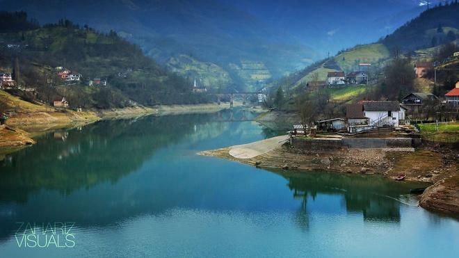 Canh sac nhu tranh ve o Bosnia va Herzegovina hinh anh