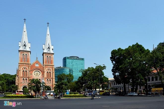 Nhung nha tho co thiet ke an tuong nhat Viet Nam hinh anh 1 Nhà thờ Đức Bà. Ảnh: Tuấn Mark.