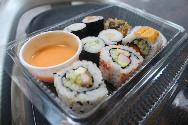 San sushi gia 1.000 dong hinh anh