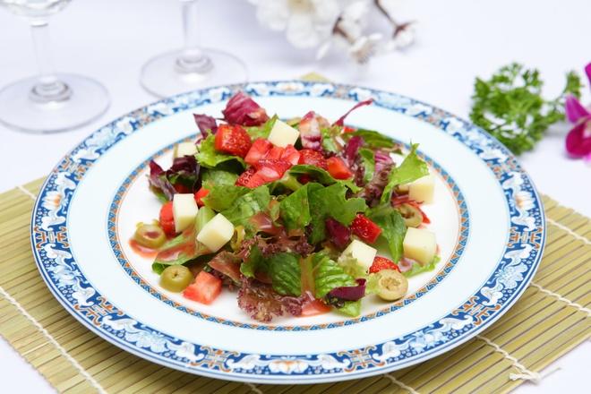 Cach lam salad dau tay ngon nhu nha hang hinh anh
