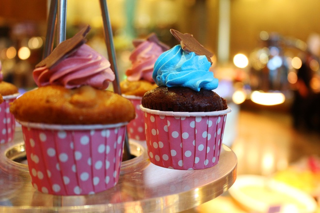 cach lam banh cup cake anh 1