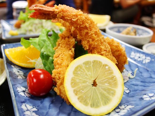 Cach lam tempura tom gion thom nhu nguoi Nhat hinh anh