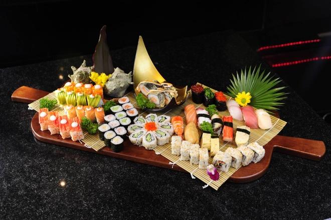 Nhung nha hang sushi dat xat ra mieng cua Sai thanh hinh anh 12