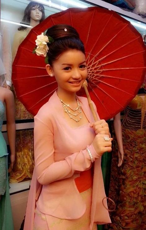 Hoa hau Myanmar giong Huong Giang Idol den bat ngo hinh anh 5