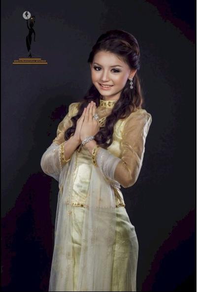 Hoa hau Myanmar giong Huong Giang Idol den bat ngo hinh anh 6
