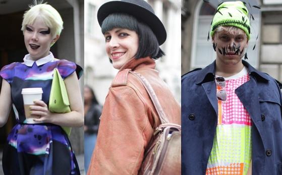 Thoi trang duong pho 'ngau' va 'di' o London Fashion Week hinh anh