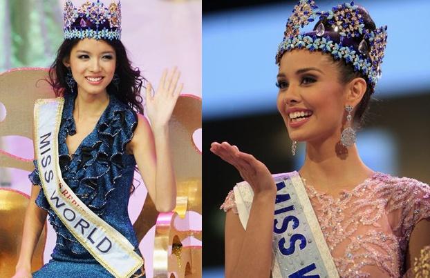 Nhung my nhan chau A tung dang quang Miss World hinh anh