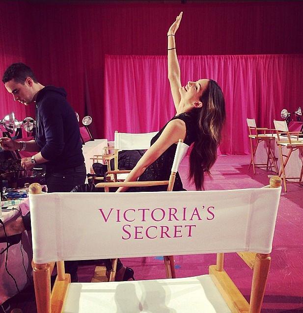 Dot nhap phong casting cua Victoria's Secret Show 2013 hinh anh 3