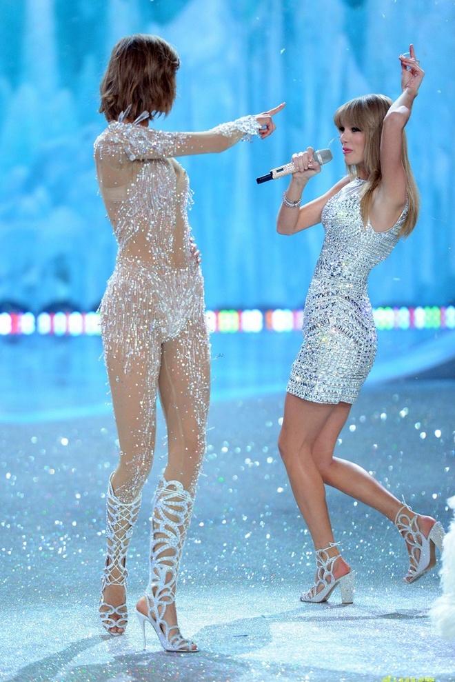 Taylor Swift do ve quyen ru voi thien than Victoria's Secret hinh anh 11