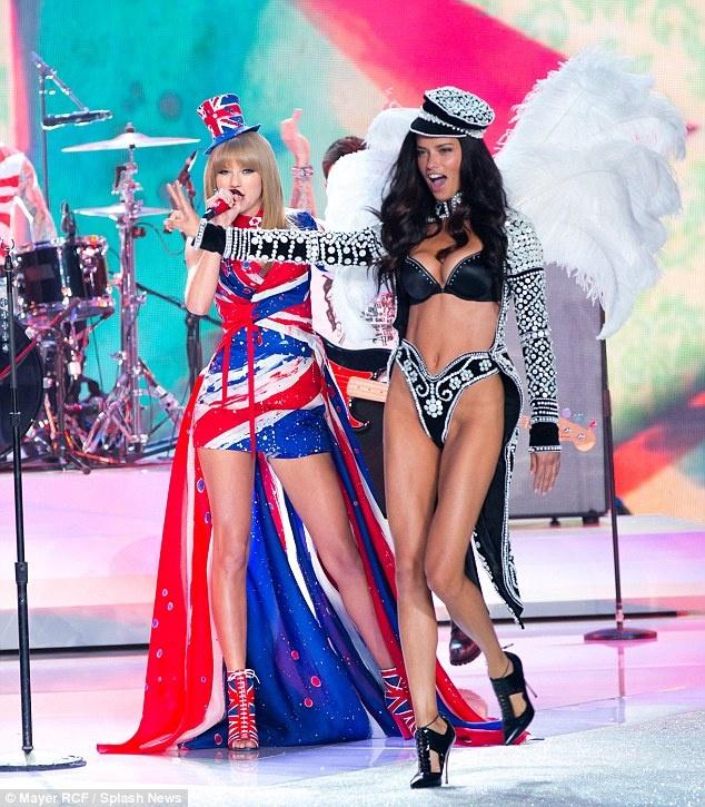 Taylor Swift do ve quyen ru voi thien than Victoria's Secret hinh anh 3
