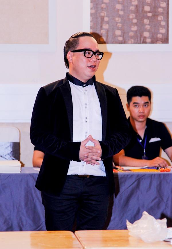 Truong Ngoc Anh rang ro tai buoi casting 'Project Runway' hinh anh 9