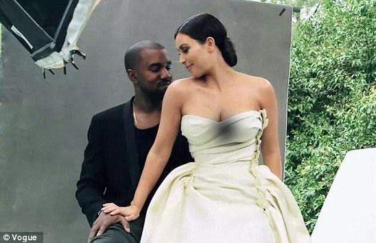 Vogue bi vi la rac ruoi vi cho Kim Kardashian len trang bia hinh anh 8