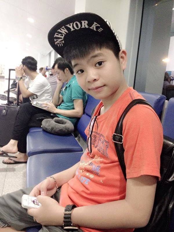 Quang Anh di luu dien nuoc ngoai cung Hoai Linh hinh anh 4