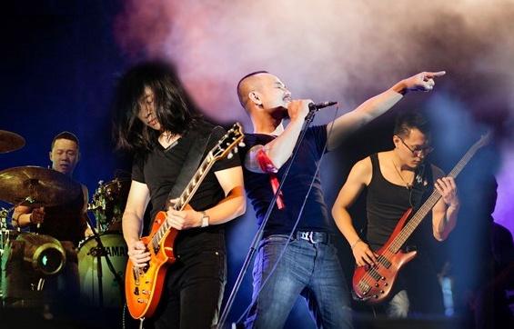 Buc Tuong, Microwave, Ngu Cung hoi ngo tai Rock Concert hinh anh