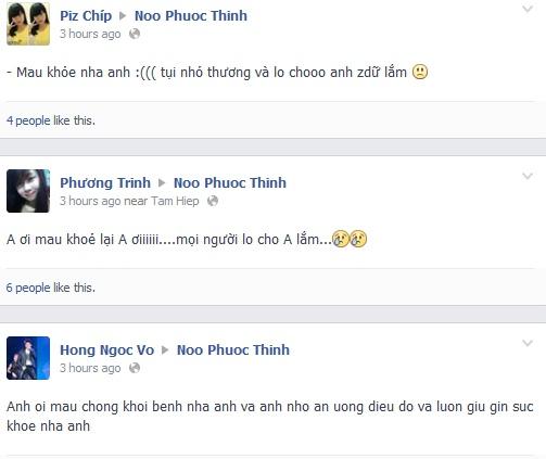 Noo Phuoc Thinh phai nhap vien vi kiet suc hinh anh 2