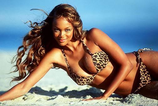 Tyra Banks noi dien vi bi Victoria's Secret tu choi hinh anh